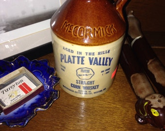 McCormick platte valley pint whiskey jug