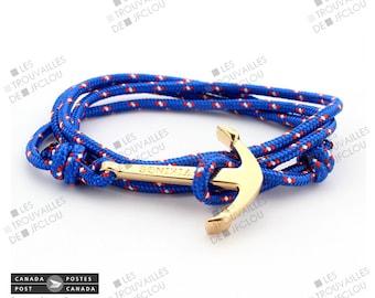 Anchor sailor Golden bracelet