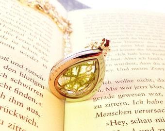 Moos medallion glass dropper silver