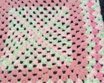 Fluffy Baby Girl Blanket