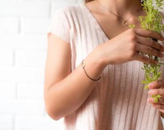 Silver Bracelet / Gold Bracelet / Geometric Shape Bracelets / Stylish Bracelet /modern bracelet /bracelet handmade /elegant bracelet