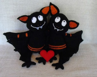 Tutorial or pattern Grande Chauve Souris crochet
