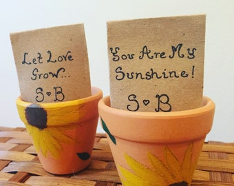 Wedding Favour - Sunflower Seeds