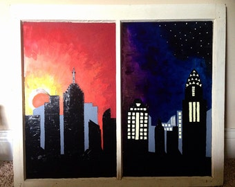 Sunset City Window
