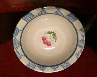 pfaltzgraff -2  bowls, 2 big plates, 6 little plates