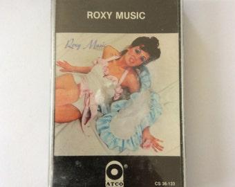 ROXY MUSIC - s/t cassette (Atco/Atlantic)