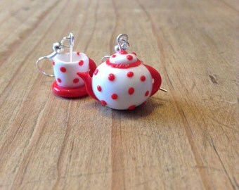 Teapot and Teacup Earrings