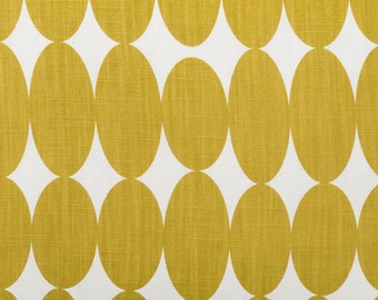 Yellow Fabric  Curtain Fabric  Mustard Yellow Fabric  Fabric Per Metre   Retro Fabric
