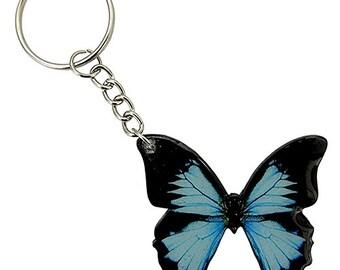 Acrylic Butterfly Keychain