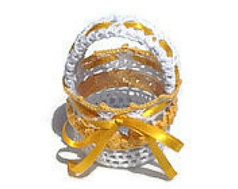 Lace Basket
