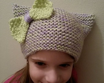 Knit Kitty Hats