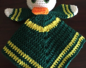 Duck Lovey Security Blanket