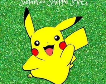 Pokemon go svg / Pikachu svg / Pokemon svg / Instant download / ZIP file with .svg, .dxf, .png, .pdf, .jpg files