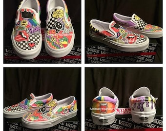 Customized Vans Made Uniquely for You!