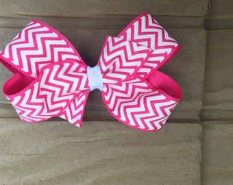 Handmade 4 inch hair bow