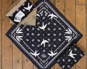 BANDANAS BLACKBIRDS par Mlle Forma
