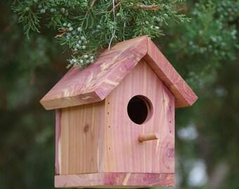 Red Cedar Birdhouse  #B-5