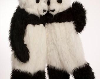 Handmade panda costume