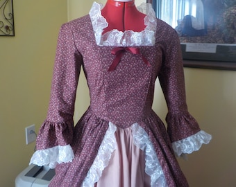 LadysColonial gown ready to ship