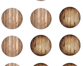 Wood Grain Edible Images