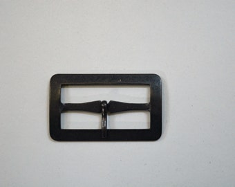 2 inch Rectangle Black oxi Rust Buckle