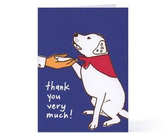 Thank You Blank Card (Good Dog)