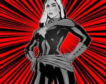 Lady Gaga Superhero Version 2