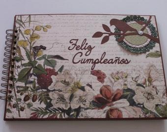 Book of signatures. Happy birthday.