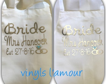 Personalised apron transfers