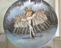 Two Collectors Plate from Swan Lake Series