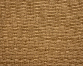 57 inch Wide Upholstery/Drapery Linen Look Fabric Windcrest Golden By The Yard