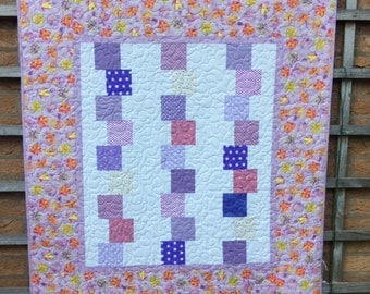 Modern Stacking Block Patchwork Quilt