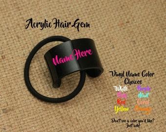 Acrylic Hair Gem
