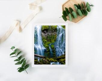 Fine Art Photography Waterfall Landscape Wall Art Print