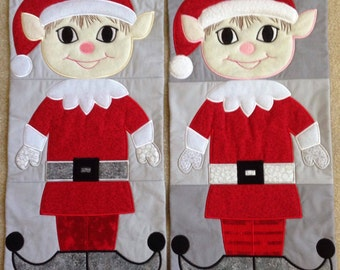 Quilted Elf Table Runners