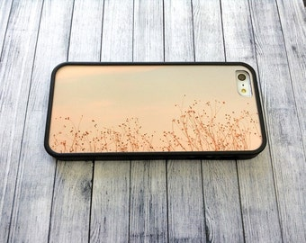 heat painting covers small flower iphone case fit iPhone 4 4s 5 5s SE 6 6s
