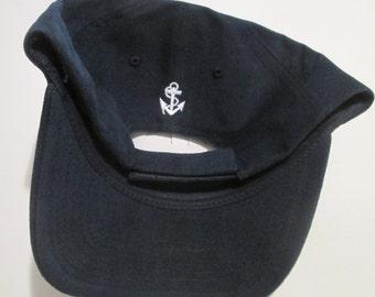 Nautical Brushed Cap