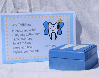 Tooth Fairy Box Personalized