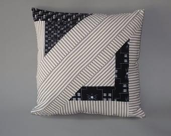 Geometric Kasuri Slip Cover #2
