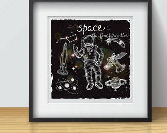 Digital Print Space the final frontier