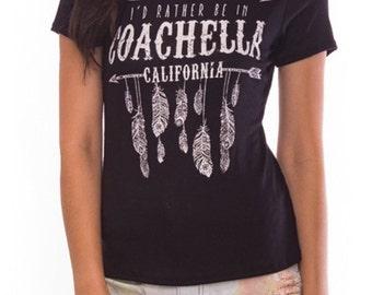 Trendy Women's Cochella Graphic Tee, California Tshirt, Palmspring Tshirt, Coachella Tee, Women's Clothing