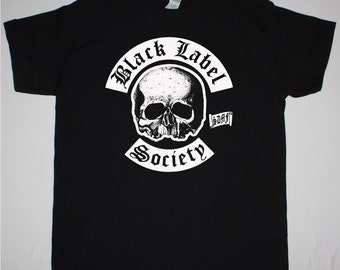 Black Label Society Logo black t shirt