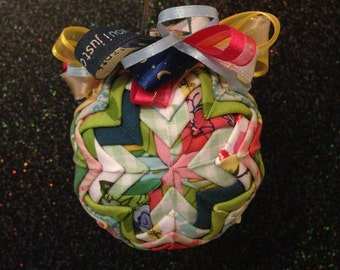 Matilda Jane Inspired Fabric Ornament (Multicolor)