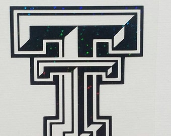 Texas Tech decal / yeti decal / car decal / laptop decal/ phone decal