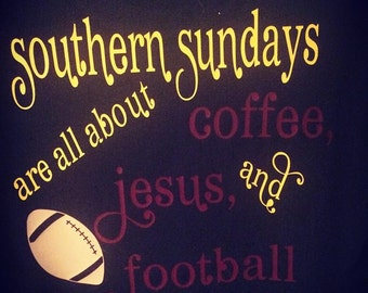 Southern Sundays Football Shirt