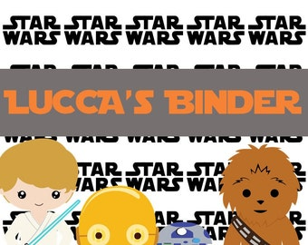 Star Wars Binder Cover