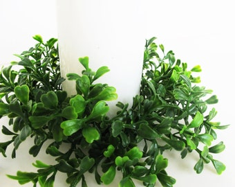 3 Boxwood Candle Holder Green Artficial Plant Candles Holders Christmas High Quanlity Green Supply Table Centerpiece Realistic Holiday