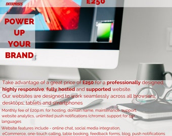 Professional Premium Website Package. Affordable Price.