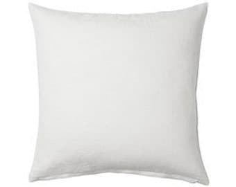 Custom Embroidery 20 x 20 Ramie pillow cover