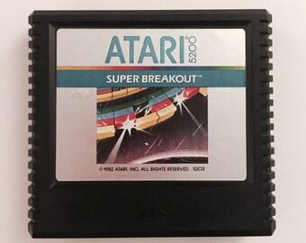 Super Breakout Game Cartridge  for Atari 5200
